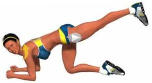 ejercicio para combatir celulitis gluteos
